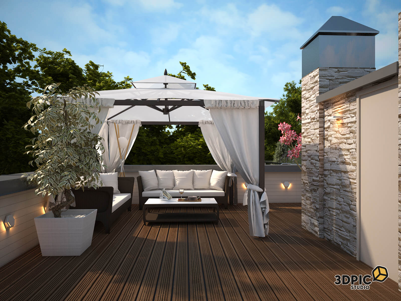 Exterior 3D Visualisation/render