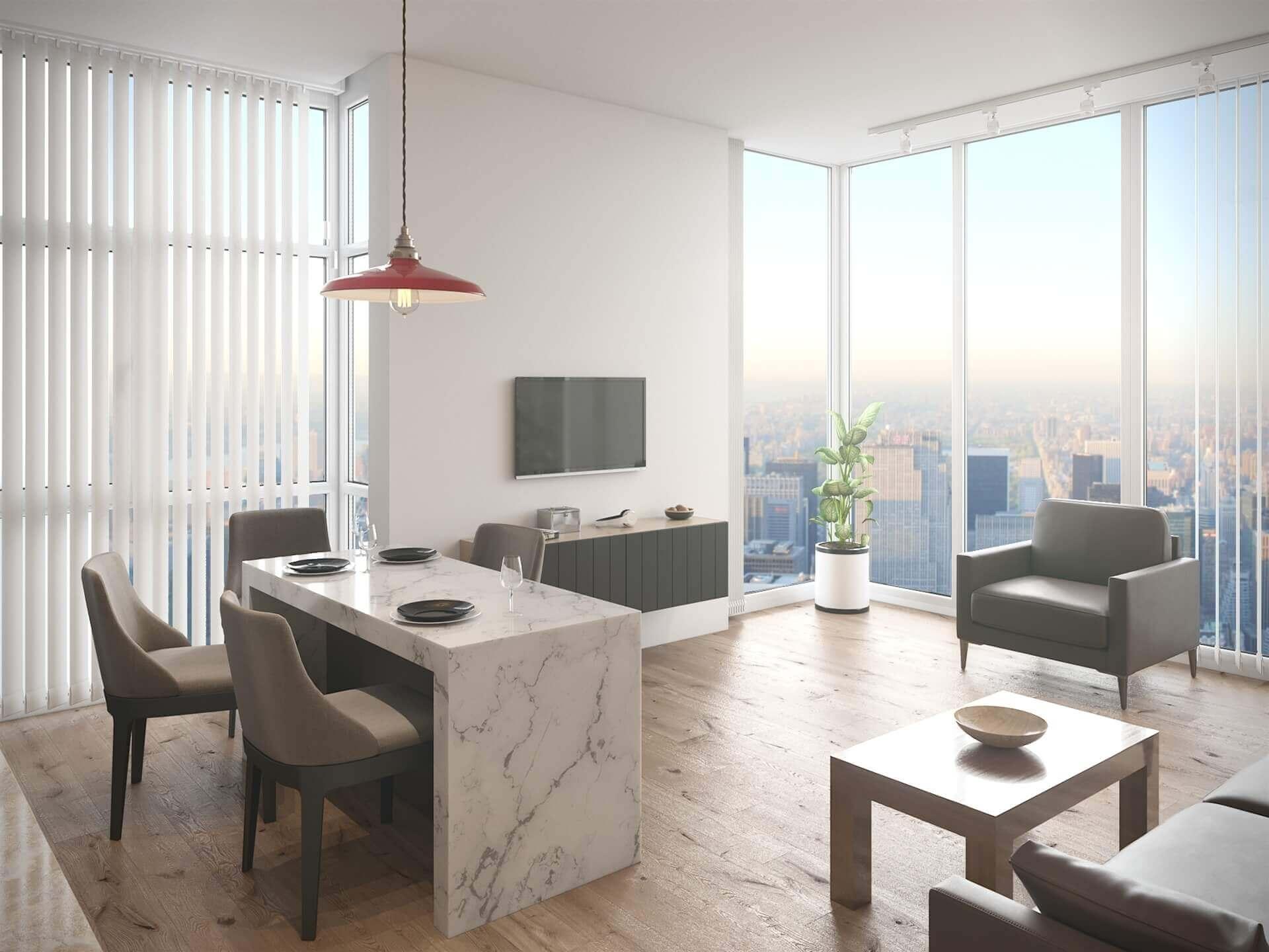 Interior 3D Visualisation/render
