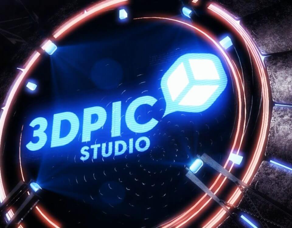 3d Animated Logo