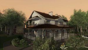 Cottage Village Flythrough