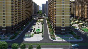 Real Estate Development Flythrough