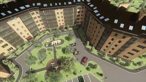 Residential Complex Flythrough