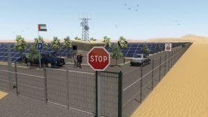 Solar Energy Farm Flythrough